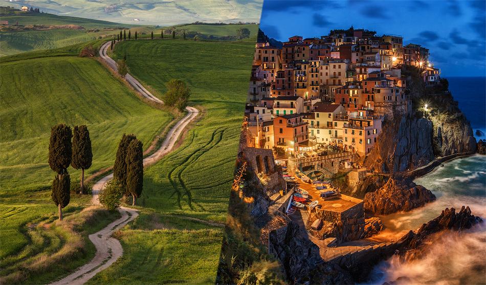 Весна в Италии для фотографа – это сказка наяву.