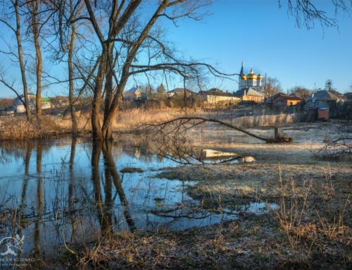 Разлив реки Уды